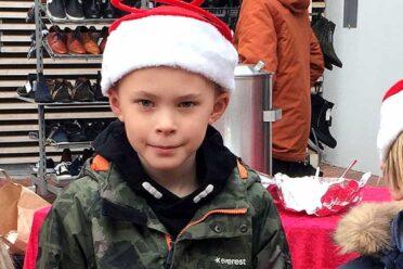 Julehyggehjørnet havde åbent med varm kakao og småkager ved Nettotorvet i Dianalund Centret