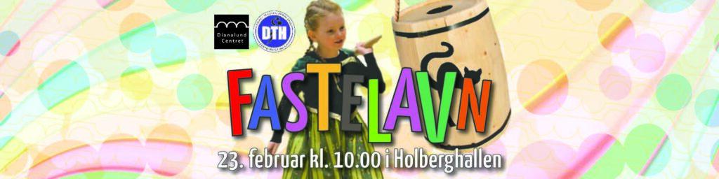 Fastelavn fejres af Dianalund Centret sammen med DTH i gymnastiksalen i Holberghallen i Dianalund