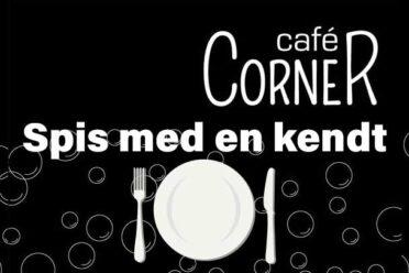 Spis med Jens Wervner på Cafe Corner i Dianalund Centret