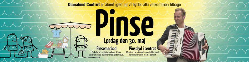 Pinse i Dianalund Centret 2020