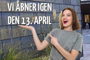 Dianalund Centret åbner den 13. april for at alle butikekr kan åbne via deres forindgang