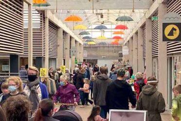 Markedsdag i Dianalund Centret med stor succes