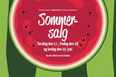 Sommersalg 2021 i Dianalund Centret med skarpe tilbud i udvalgte butikker